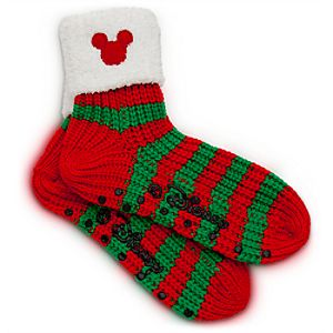 Mickey Mouse Icon Socks for Adults - Holiday