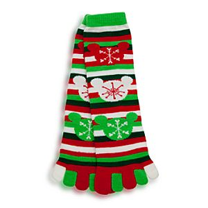 Mickey Mouse Toe Socks for Adults - Holiday