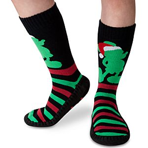 Mickey Mouse Slipper Socks for Adults - Holiday