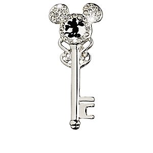 Mickey Mouse Key Brooch
