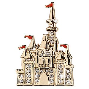 Sleeping Beauty Castle Brooch