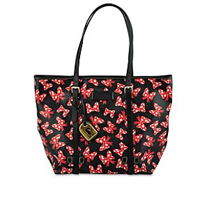 Minnie Mouse Bow Tote by Dooney & Bourke - Medium - Black
