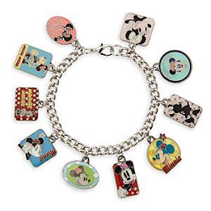 Minnie Mouse Cloisonné Charm Bracelet