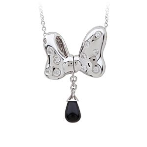 Minnie Mouse Magnetic Bow Necklace by Petra Azar
