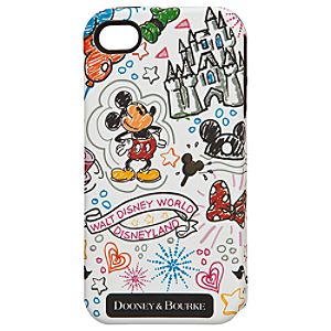 Mickey Mouse iPhone 4/4S Case by Dooney & Bourke - White