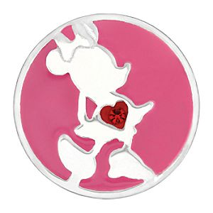 Minnie Mouse Kameleon Jewel Pop Charm - Silhouette