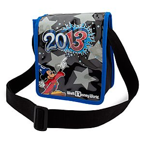 Sorcerer Mickey Mouse Crossbody Bag - Walt Disney World 2013