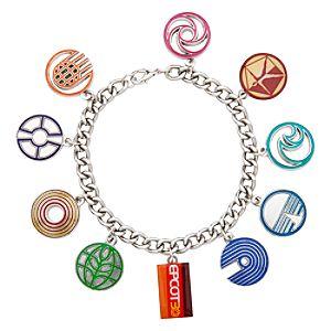 Epcot 30th Anniversary Charm Bracelet