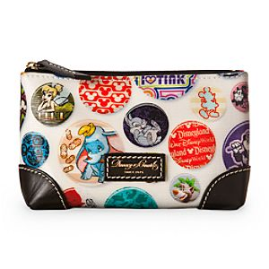 Mickey Mouse Buttons Cosmetic Case by Dooney & Bourke