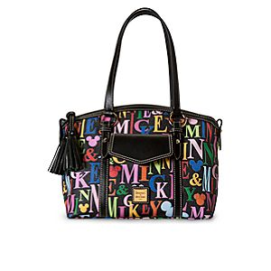 Mickey and Minnie Mouse Rainbow Crossbody Satchel by Dooney & Bourke