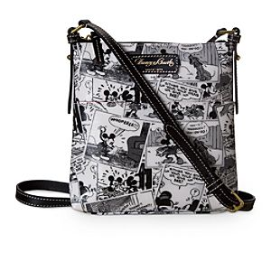 Mickey Mouse Comics Letter Carrier Bag by Dooney & Bourke