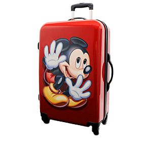 Mickey Mouse Stow-Away Luggage - 26
