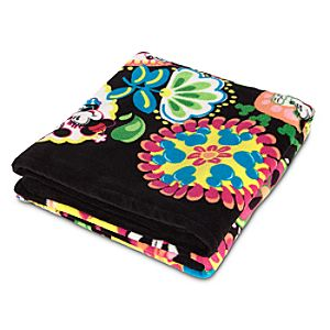 Midnight with Mickey Fleece Throw by Vera Bradley