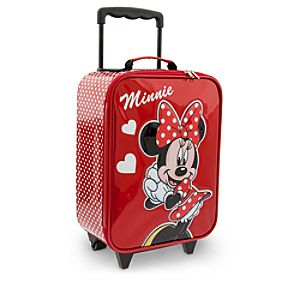 Minnie Mouse Signature Rolling Luggage