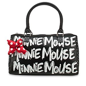 Minnie Mouse Polka Dot Purse - Black