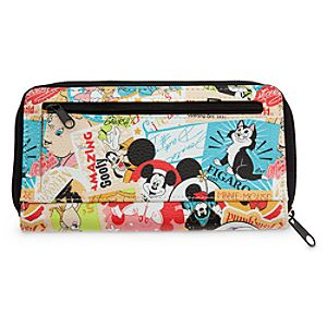 Classic Collage Disney Parks Wallet