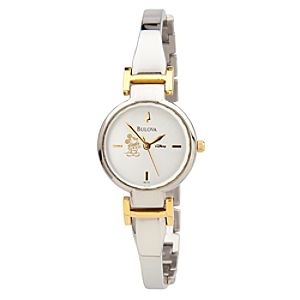 Mickey Mouse Bangle Watch for Women by Bulova