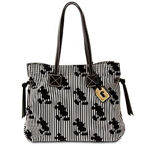 Mickey Mouse Striped Victoria Bag by Dooney & Bourke