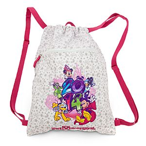 Walt Disney World 2014 Cinchsack Backpack
