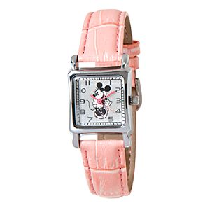 Minnie Mouse Square Watch for Women