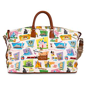 Disneyland Weekender Bag by Dooney & Bourke - Retro