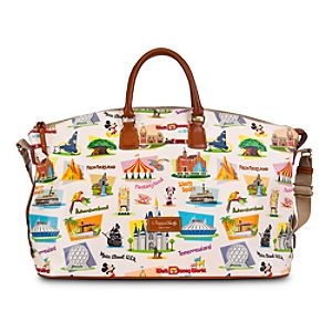 Walt Disney World Weekender Bag by Dooney & Bourke - Retro