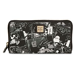 Mickey Mouse Comics Wallet by Dooney & Bourke