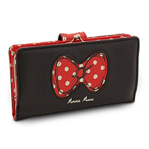 Minnie Mouse Bow Wallet