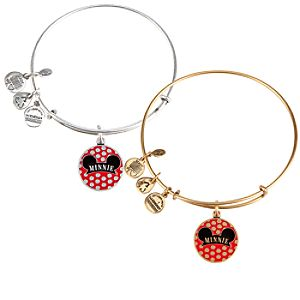 Minnie Mouse Bangle by Alex and Ani - Gold