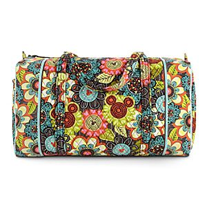 Mickeys Perfect Petals Large Duffel Bag by Vera Bradley