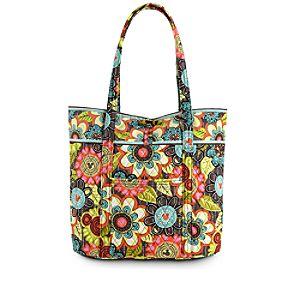 Mickeys Perfect Petals Vera Bag by Vera Bradley