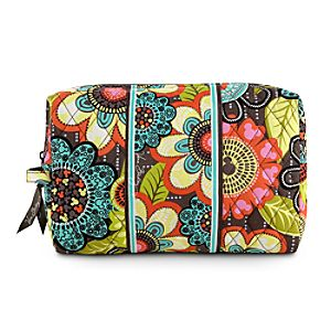 Mickeys Perfect Petals Large Cosmetic Bag by Vera Bradley