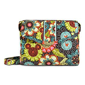 Mickeys Perfect Petals Tablet Hipster Bag by Vera Bradley