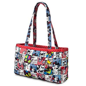 Mickey and Minnie Mouse Patchwork Large Satchel by Harveys