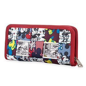 Mickey and Minnie Mouse Patchwork Clutch Wallet by Harveys