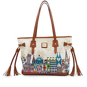 its a small world Tassel Bag by Dooney & Bourke