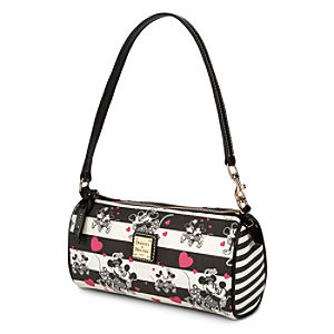 Mickey and Minnie Mouse Sweethearts Mini Barrel Bag by Dooney & Bourke