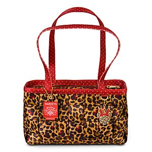Minnie Mouse Leopard Large Satchel by Harveys