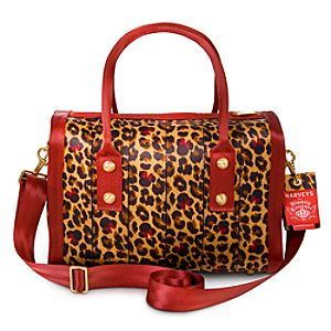 Minnie Mouse Leopard Marilyn Satchel by Harveys