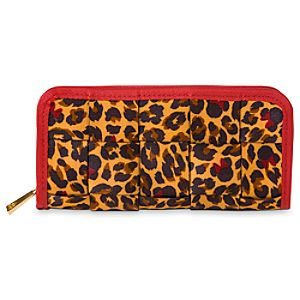 Minnie Mouse Leopard Wallet Clutch by Harveys