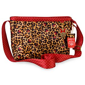 Minnie Mouse Leopard Convertible Tote by Harveys