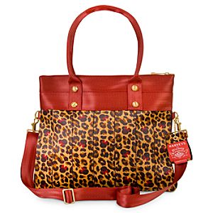 Minnie Mouse Leopard Marilyn Fold Over Tote by Harveys