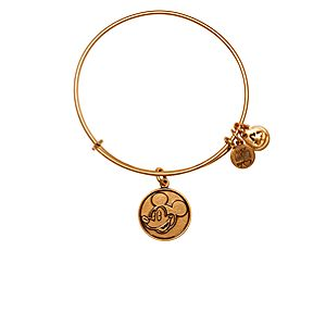 Mickey Mouse Bangle by Alex and Ani - Gold