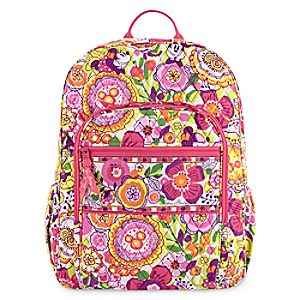 Mickey and Minnie Mouse Bouncing Bouquet Backpack by Vera Bradley