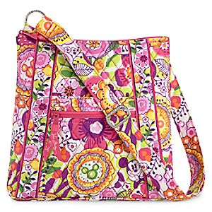 Mickey and Minnie Mouse Bouncing Bouquet Hipster Bag by Vera Bradley