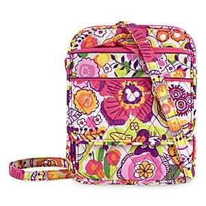 Mickey and Minnie Mouse Bouncing Bouquet Mini Hipster Bag by Vera Bradley