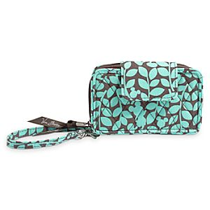 Mickeys Perfect Petals Smartphone Wristlet by Vera Bradley