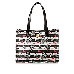Mickey and Minnie Mouse Sweethearts Shopper Tote by Dooney & Bourke
