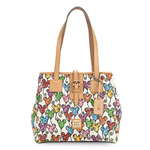 Mickey Mouse Balloon Medium Shopper by Dooney & Bourke - White