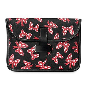 Minnie Mouse Bow Tablet Case by Dooney & Bourke - Black